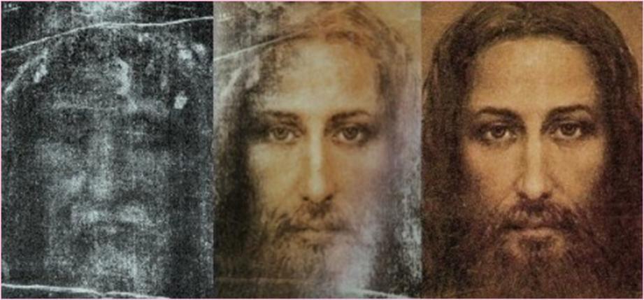 Лик Господа Иисуса Христа с Туринской Плащаницы
