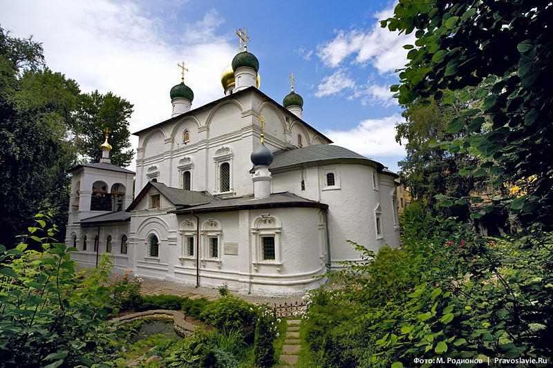 Бог в истории России и в жизни древней обители (обзорно-историческая экскурсия по Московскому Сретенскому монастырю)